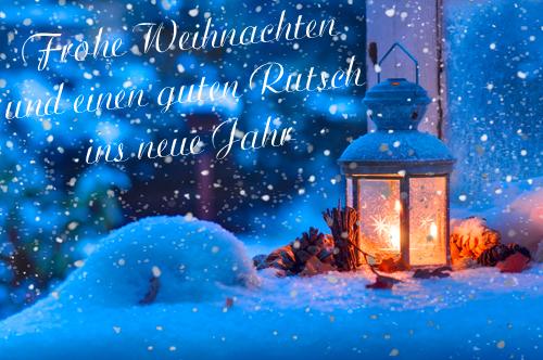 Blau Weiss Hollage Ev Frohe Weihnachten Und Gutes Neues Jahr